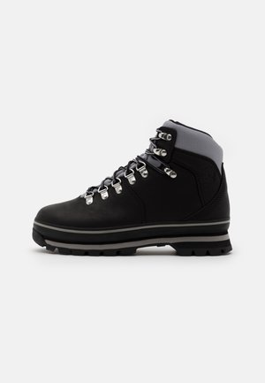 EURO HIKER WP BOOT - Lace-up ankle boots - black