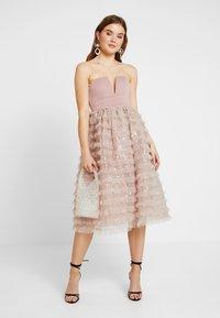 Rare London - SEQUIN DETAIL PROM DRESS - Cocktail dress / Party dress - lilac - 2