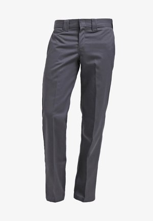 873 SLIM STRAIGHT WORK  - Chinosy - charcoal grey