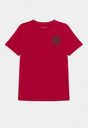 JUMPMAN STACK CLASSIC TEE UNISEX - Print T-shirt - gym red