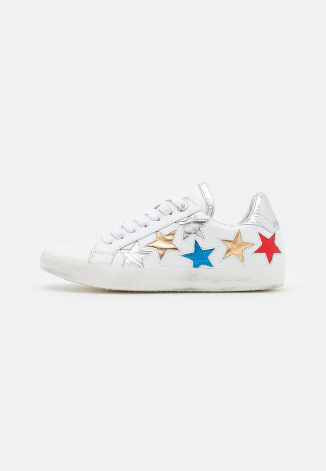 ZADIG USED STAR - Baskets basses - blanc
