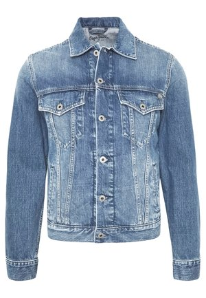 PINNER - Chaqueta vaquera - blue denim