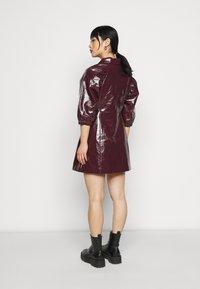 Glamorous Petite - LADIES DRESS - Blousejurk - burgundy - 2