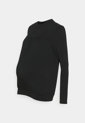 AVI - T-shirt à manches longues - black