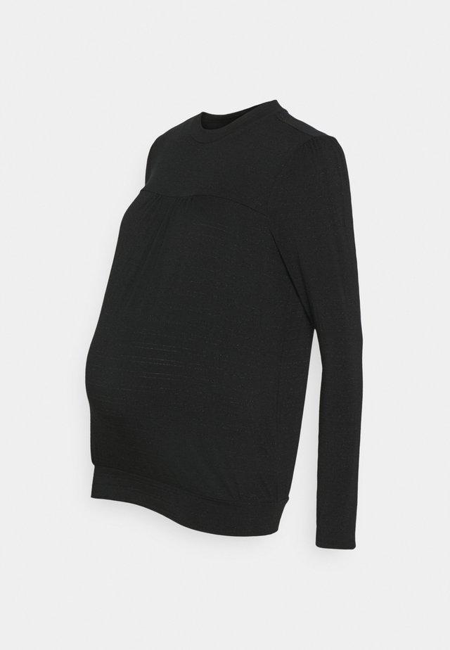 AVI - Maglietta a manica lunga - black