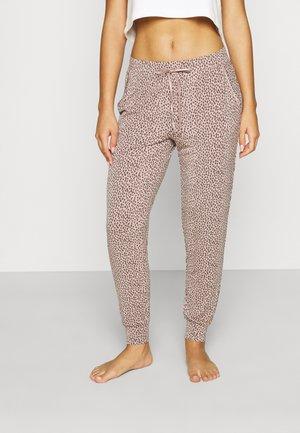 PIPING JOGGER - Pyjama bottoms - pink