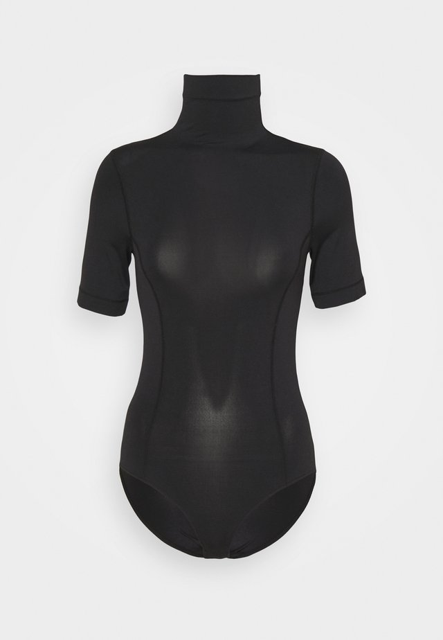 BLEND MOCK NECK BODYSUIT - T-shirts basic - black