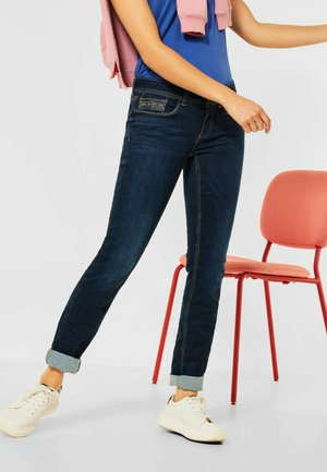 Slim fit jeans - deep indigo eco wash