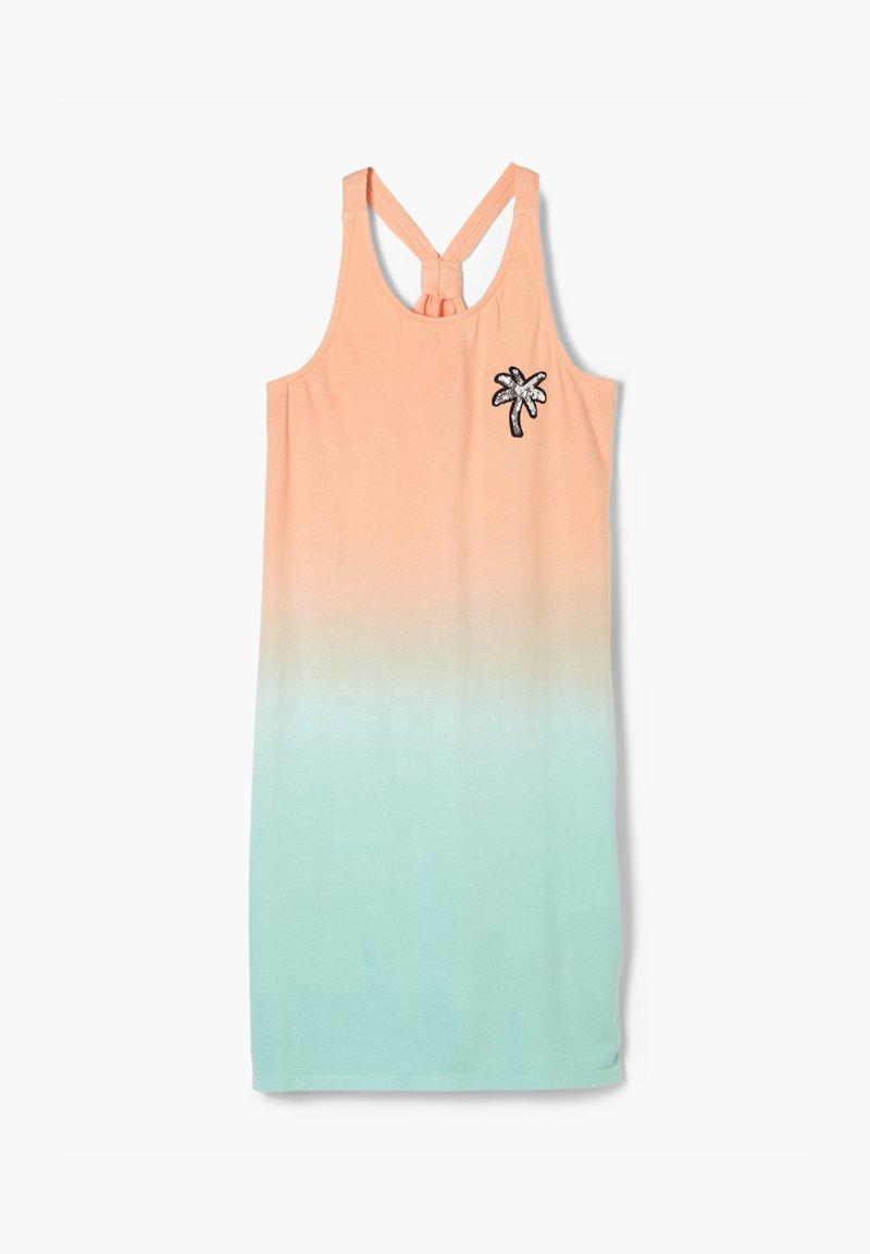 s.Oliver - Jersey dress - aqua gradient