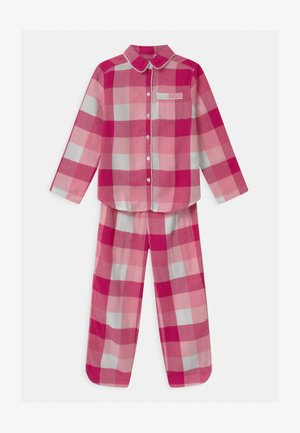 GIRL PLAID - Pyjama set - spring pink