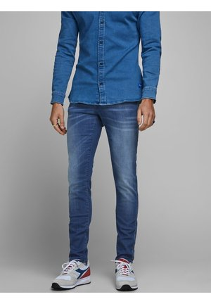JEANS GLENN ROCK BL 894 LID - Jean slim - blue denim