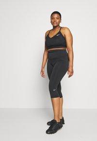 Nike Performance - ONE CROP PLUS - Collant - black - 1