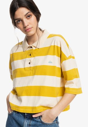 Polo shirt - lemongrass modern day