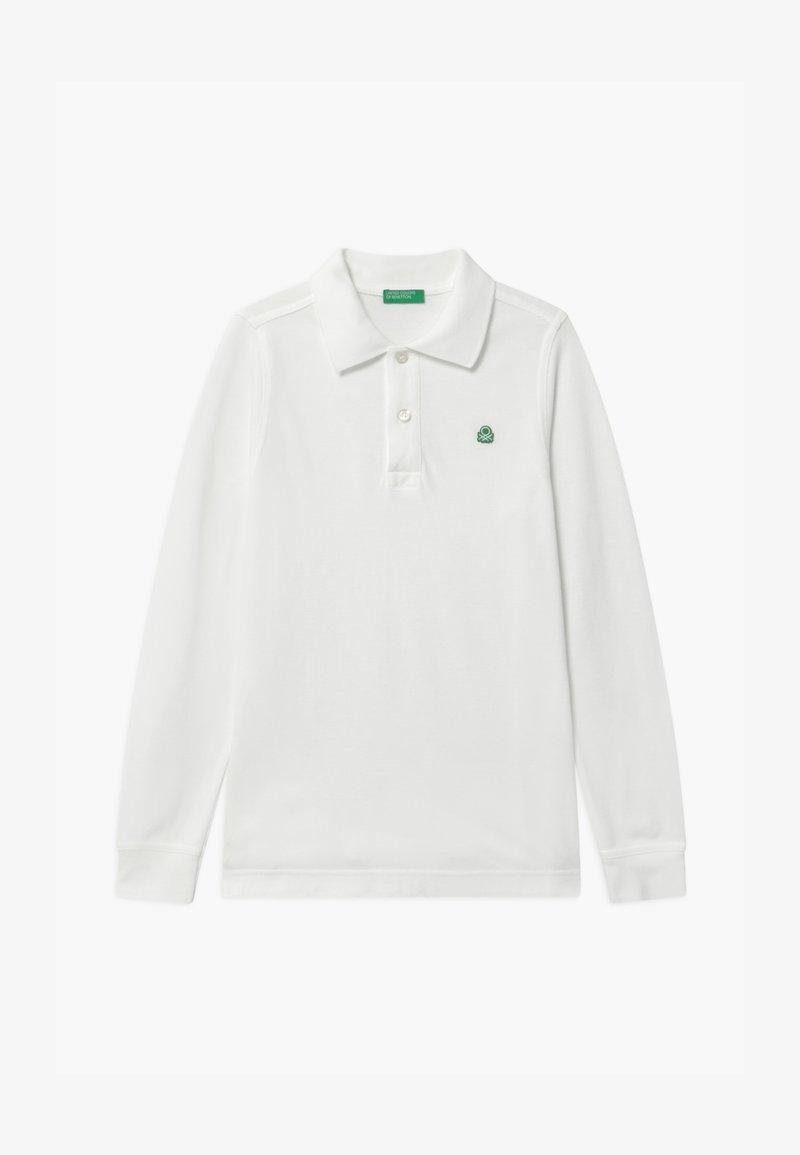 Benetton - BASIC BOY - Polo shirt - white