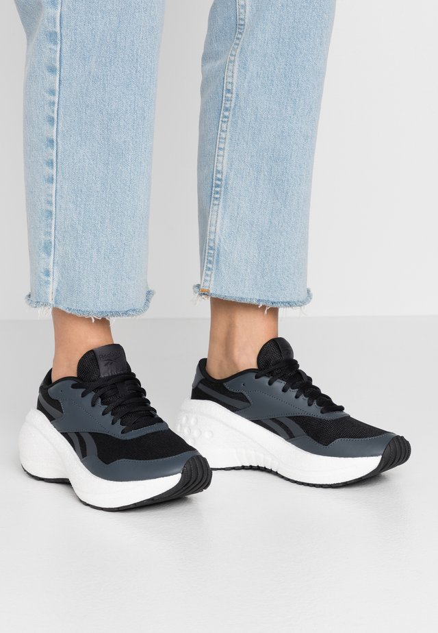 METREON - Trainers - black/true grey 8/white
