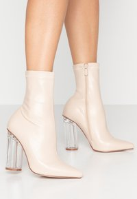 BEBO - HADLEY - High heeled ankle boots - nude - 0