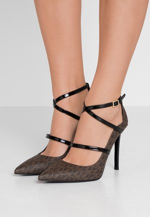 GENEVA  - High heels - brown/black