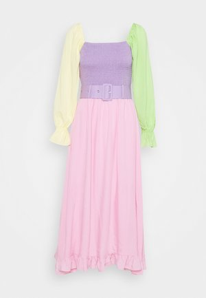 EFFIE - Day dress - colourblock