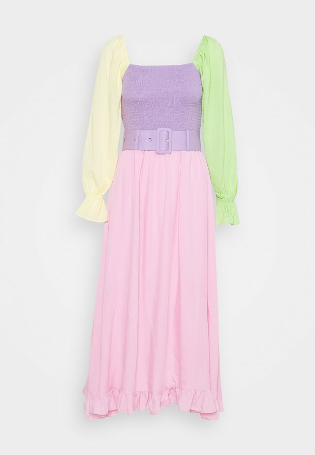 EFFIE - Day dress - colourblock