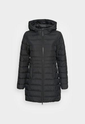 LIGHT WEIGHT PUFFER COAT - Veste d'hiver - deep black
