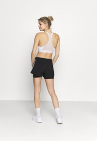 adidas Performance - PACER 2 IN 1 - Pantalón corto de deporte - black/white - 2