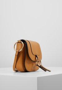 Dorothy Perkins - RING SADDLE - Across body bag - ochre - 3
