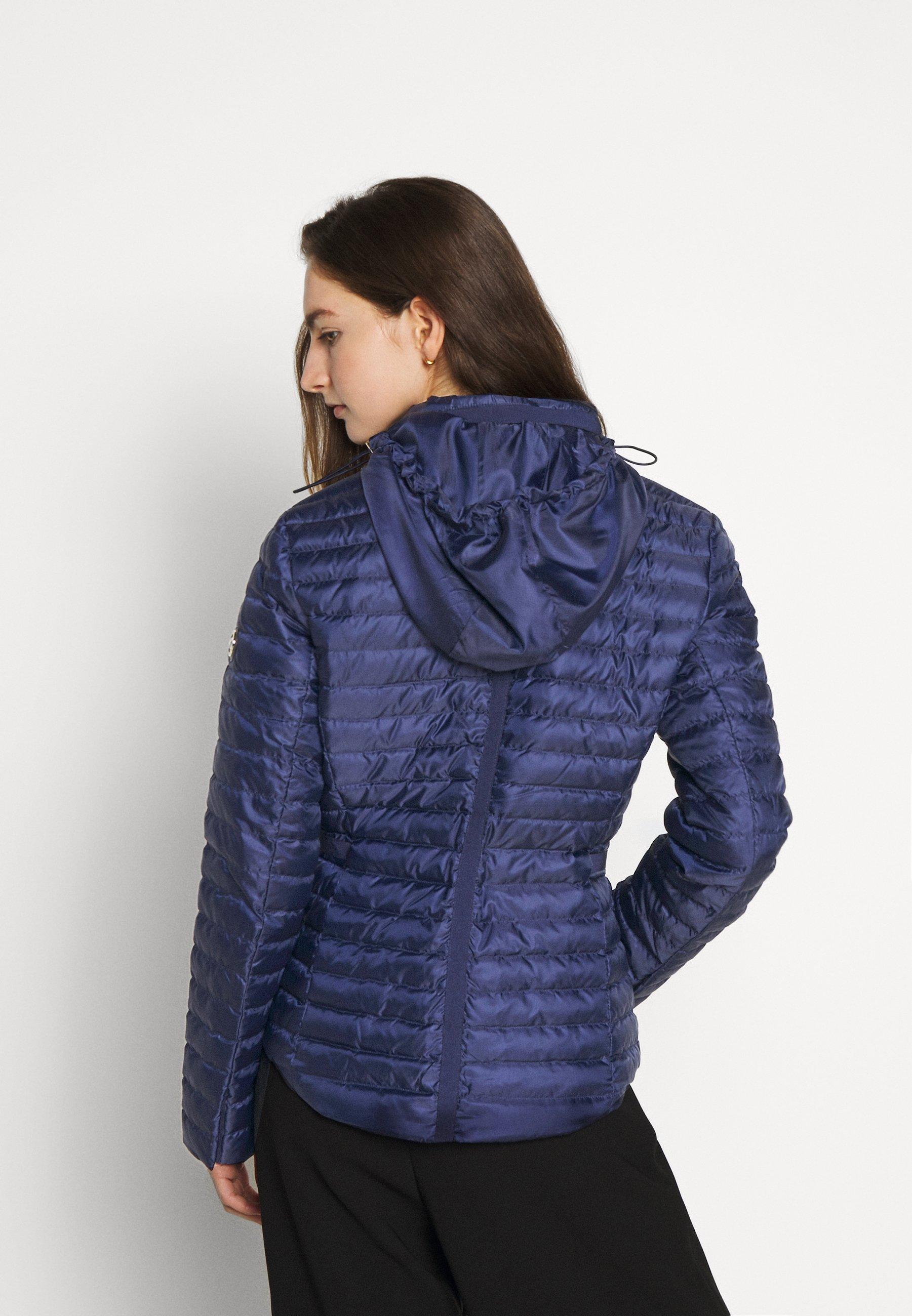 Women BELTED PUFFR - Down jacket