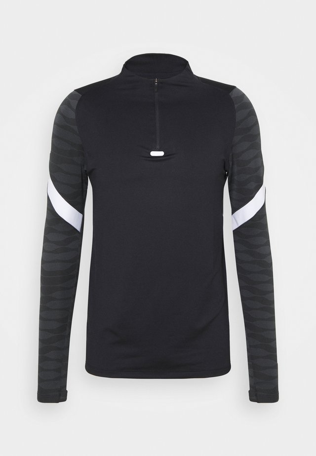 STRIKE 21 - Sports shirt - black/anthracite/white