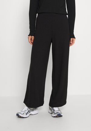 VIRIBBI PANTS - Trousers - black