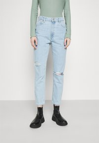 Abrand Jeans - HIGH - Slim fit jeans - daisy blue - 2