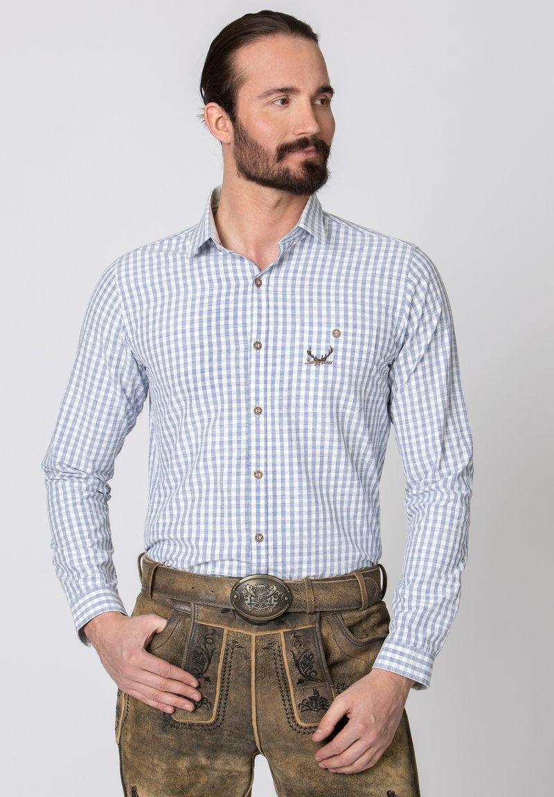 Stockerpoint - MANOLO - Shirt - blue