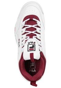 Fila - Trainers - white/green/bordeaux - 1
