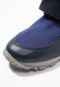 Jack Wolfskin - KIWI WT TEXAPORE MID - Walking boots - dark blue/red - 2