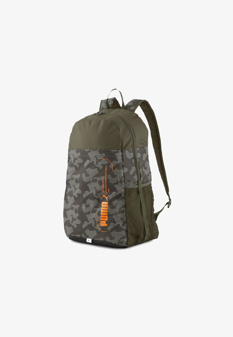 Puma - STYLE BACKPACK UNISEX - Rucksack - forest night-camo aop