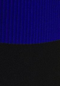 Milly - SCALLOPED COLORBLOCK - Jumper dress - black/azure - 8