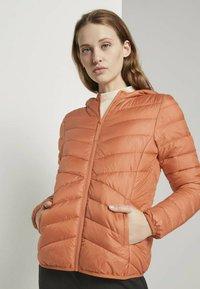 TOM TAILOR DENIM - Light jacket - dull coral - 0