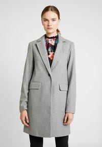 Dorothy Perkins Tall - MINIMAL LINED - Krátký kabát - light grey - 0