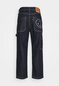 Levi's® - TAPER CARPENTER CROP - Jeans a sigaretta - dark indigo - 1