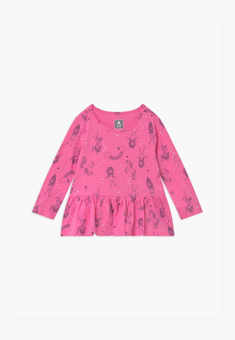 GAP - TODDLER GIRL  - Top sdlouhým rukávem - pink