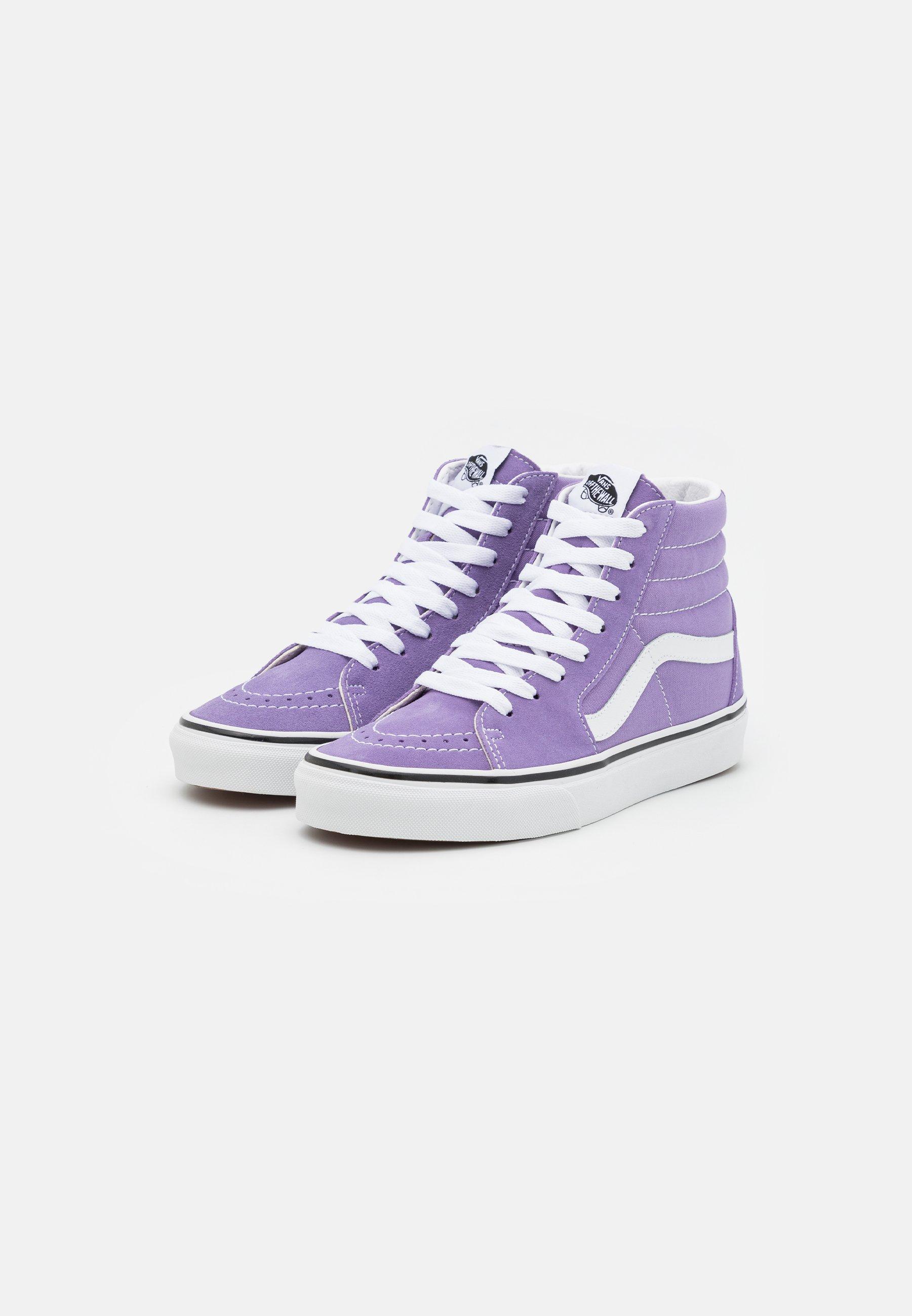 SK8-HI UNISEX - Sneakers alte - chalk violet/true white
