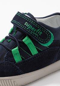 Superfit - MOPPY - Scarpe primi passi - blau/grün - 5