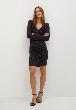 TYRA - Shift dress - rouge