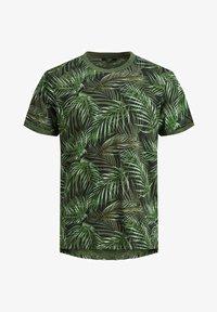 Jack & Jones PREMIUM - BOTANIK - T-shirt med print - black - 6