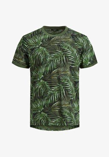 BOTANIK - Camiseta estampada - black