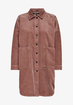 Button-down blouse - burlwood