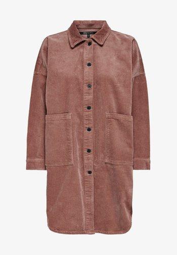 Button-down blouse - burlwood