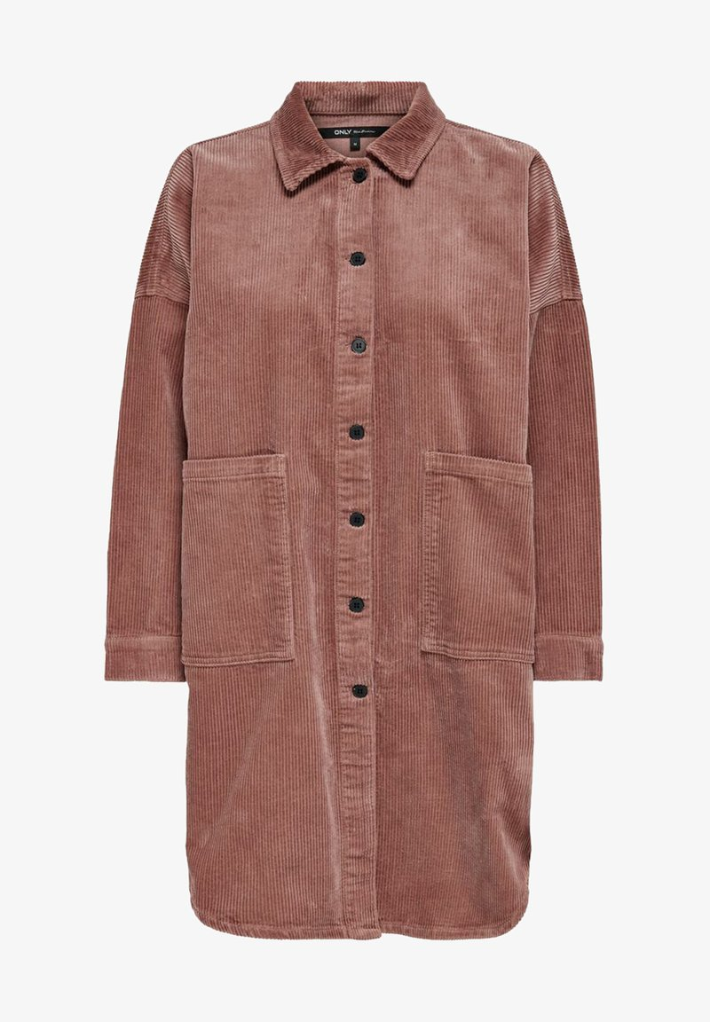 ONLY - Button-down blouse - burlwood