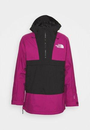 SILVANI ANORAK - Hardshell jacket - roxbury pink/black