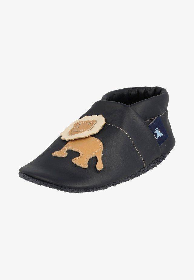 LÖWE - First shoes - blau / apricot / beige