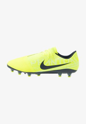PHANTOM AG-PRO - Moulded stud football boots - volt/obsidian/barely volt